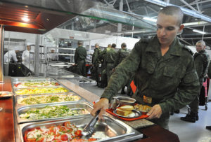 Кормят в российской армии
