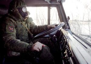 Военный водитель