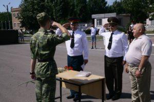 Присвоение воинских званий военнослужащим