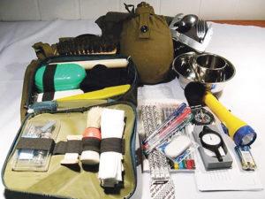 Тревожный чемоданчик военнослужащего