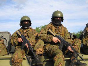 Спецназ ГРУ и ВВ МВД