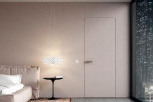 Что такое двери-невидимки и где они обычно используется